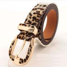Cinto Leopardo — Dáli Acessórios