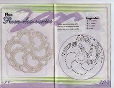 como hacer flores en crochet Happy Holi, Tejidos, Blue Prints