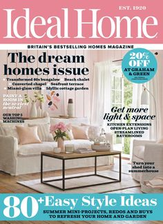 Ideal home uk august 2017