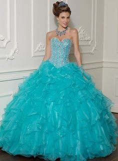 Pettie Romantic Ball gown  Green  Prom Dresses 2012  88001