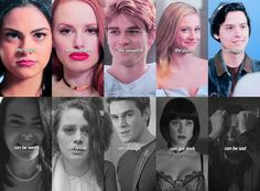 Riverdale: Veronica, Cheryl, Archie, Betty and Jughead