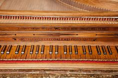 A single-manual harpsichord by Aelpidio Gregori, Sant Elpidi