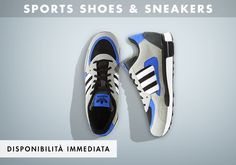 Una selezione di calzature sportive con materiali studiati per un fit ideale e tecnologie all'avanguardia.