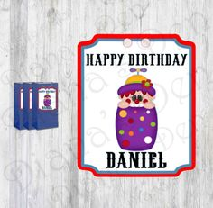 Circus Tags/Circus Labels/Circus Stickers/Circus Party/Circus Birthday/Carnival Tags/Carnival Party/Big Top Tags/Big Top Party/Circus Theme by DianasDen on Etsy