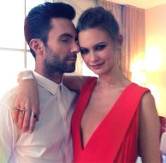 Adam and Behati (Begin Again premiere)
