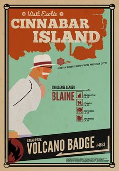 Come Visit Cinnabar Island!