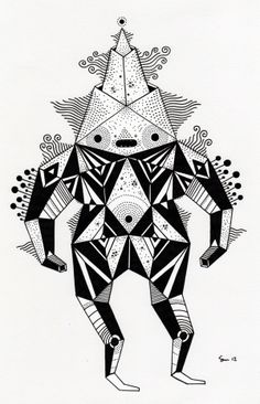 Paris Character work by Cosmic Nuggets, via Behance