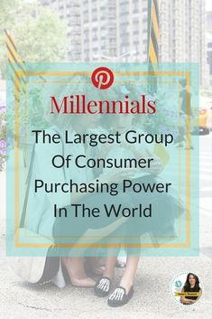 Millennials were raised on tech gadgets and they rule the internet. They also comprise the fastest-growing consumer segment in America. Did you also know that they make up the majority of Pinterest users and they have a lot of money to spend!