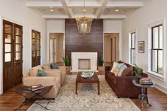 Hill Country Contemporary - eclectic - living room - austin - Redbud Custom Homes