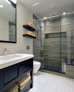 Image result for wood plank tile bathroom