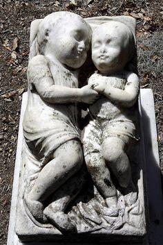 Grave of two little ones...bonaventurecemetery