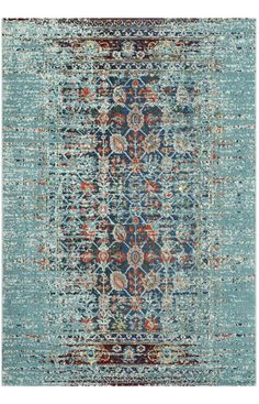 Great for Borowski Oriental Blue Area Rug by Mercury Row Rugs Home Decor Furniture from top store Carpet Runner, Rug Runner, Aqua Area Rug, Aqua Rug, Rugs Usa, Contemporary Rugs, Rugs Online, Rugs On Carpet, Homemade Home Decor