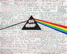 Pink Floyd Lyric Tribute by ~elmothealien on deviantART