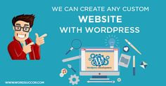 Wondering how you can get #customwebsitedesign for your business at #affordablerate? Do contact us now! We don't just BUILD websites, we build websites that SELLS ☎ Contact no: +1-209-386-9543 ✉ e-mail: sales@wordsuccor.com Just Visit: http://www.wordsuccor.com/ser…/custom-wordpress-development/