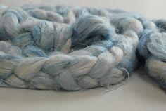 Check out Ceramic~ Flax fibre - hand dyed on appleoakfibreworks Flax Fiber, Colour Inspiration, Doll Hair, Vegan Friendly, Dyes, Merino Wool Blanket, Yarns, Spinning, Throw Pillows