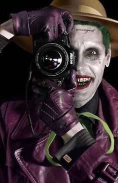 "Jared Leto's Joker ""I'm not gonna kill you, I'm just gonna hurt you really really bad ."" #SuicideSquad"