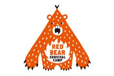 Red Bear Survival Camp logo by Bunpei Ginza Ltd.