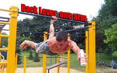 Tutorial #16 Back Lever one arm tutorial / waga tyłem na jednej ręce poradnik