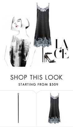 """""""Lace Perfection"""" by splash-studio ❤ liked on Polyvore featuring Pasotti Ombrelli, Givenchy and Alaïa"""