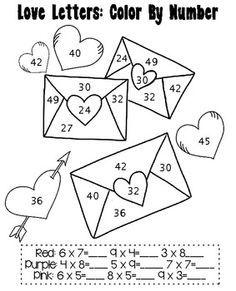 Mitten Math Multiplication worksheet : Printables for Kids