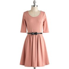 Abiding Beauty Dress in Pink ($45) ❤ liked on Polyvore