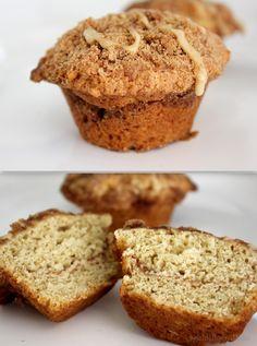 Coffee Cake Muffins ~ Gluten Free