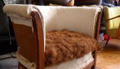 DU CHIC ET DU RÉTRO, vente et réfection de chaises, fauteuils et autres assises en technique traditionnelle et moderne. Atelier à Montreuil.