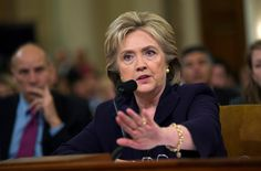 Hillary Clinton and the Benghazi Gang --- Hillary R. Clinton, the former secretary of state, spent hours on Thursday facing down a gang of spiteful Republican lawmakers... The pointless grilling of Mrs. Clinton, who fielded a barrage of questions that have long been answered and settled, served only to embarrass the Republican lawmakers who have spent millions of dollars on a political crusade. In recent days, some prominent Republicans have even admitted as much...