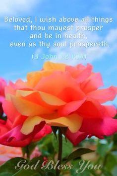 3 John 1:2 KJV