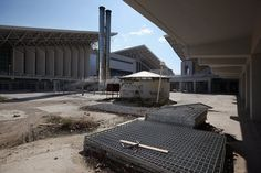 Athens (2004) - The city planned to turn the Olympic village into public housing. Today village is totally abandoned.