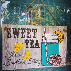 Display your southern pride on your front door or porch. This hanger is a custom creation that is hand painted with a beautiful rope hanger!