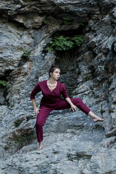 handmade unique linen jumpsuit for women