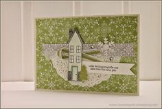 Stampin´Up! Aus dem Häuschen, Holiday Home, Christmas Card, Washi-Tapes
