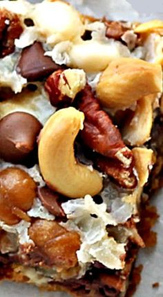 Monster 10 Layer Bars - Easy Magic Cookie Bars you know and love with 3 additional yummy layers!!
