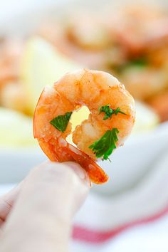 Lemon Garlic Shrimp - easiest and best shrimp recipe with lemon, garlic, butter, and shrimp, all ready in 20 mins. Perfect as appetizer or with pasta   rasamalaysia.com