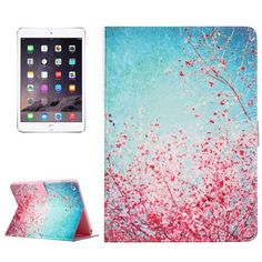 For+iPad+mini+4+Flower+Pattern+Horizontal+Flip+Leather+Case+with+Holder,+Card+Slots+&+Wallet