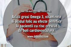 Photo Omega 3, vitamine si probleme cardiovasculare - drsuciu Vitamins