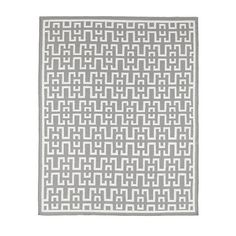 This one has a nice bright white, rather than cream.  <3  -  Avlon Dhurrie Flatweave Rug