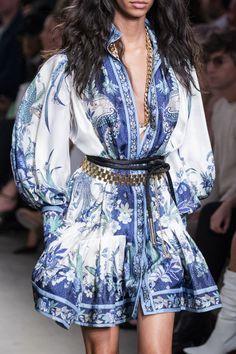 The Fashion Geek - Zimmerman at New York Fashion Week Spring 2020 2020 Fashion Trends, Fashion 2020, Look Fashion, Runway Fashion, Spring Fashion, High Fashion, Fashion Outfits, Womens Fashion, Fashion Design