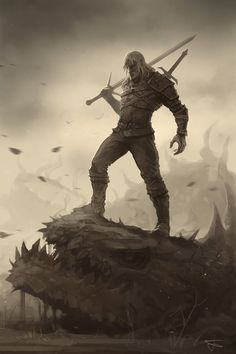 The Witcher fan art by Denchik111 [x-post /r/ImaginaryWitcher ...