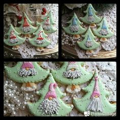 Christmas gnomes by Teri Pringle Wood