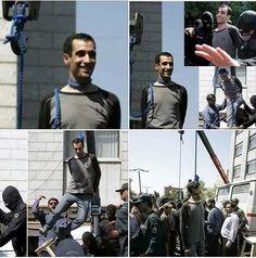Iran hang gay boys