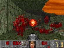 My first game ever: Doom! #retrovideogames