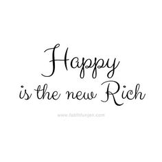 Happy is the new!