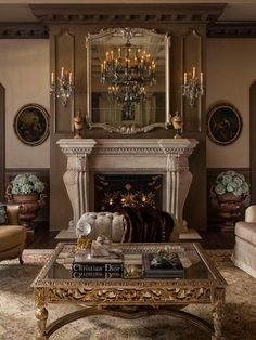 French Living Rooms, French Country Living Room, Classic Interior, Home Interior Design, Design Interiors, Living Room Designs, Living Room Decor, Cozy Living Rooms, Living Room Modern