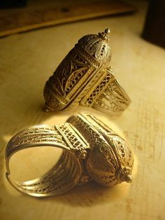 "elhieroglyph: ""Handmade Prayer Box Rings """