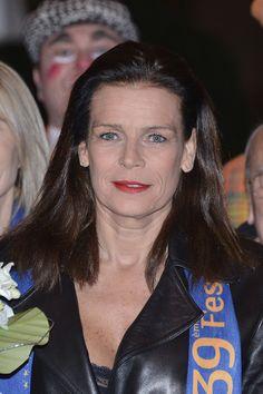La Princesse Stéphanie sa fille Camille Gotlieb et l'acteur Robert Hossein ont assisté à la 3ème journée dun39ème Festival International du cirque de Monte-Carlo. 18 Janvier 2015