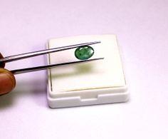 (sku no: kge1.47ct2) Natural Green Emerald 1.47ct