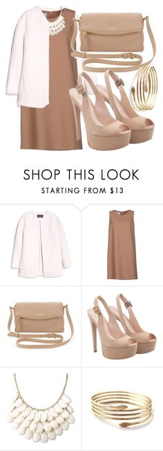 """""""581"""" by laurie-hooope ❤ liked on Polyvore featuring MANGO, Gianluca Capannolo, Kate Spade and contest"""