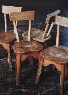 Vintage Danish Children's Chairs